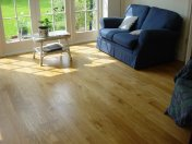 Solid 'selected' English Oak 100mm-200mm wide. Finished with Hardwax Oil - Photo 6 of 10