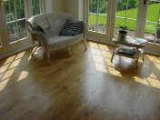 Solid 'selected' English Oak 100mm-200mm wide. Finished with Hardwax Oil - Photo 7 of 10