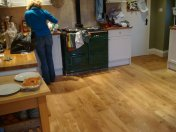 New English Character Oak flooring installed following flood damage. - Photo 2 of 9