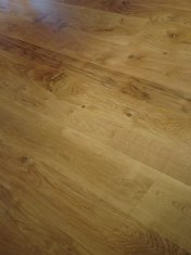 New English Character Oak flooring installed following flood damage. - Photo 4 of 9