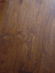 Solid English Character Oak with a dark Van Dyke stain and finished with Hardwax Oil - Photo 3 of 7