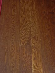 Solid English Character Oak with a dark Van Dyke stain and finished with Hardwax Oil - Photo 5 of 7