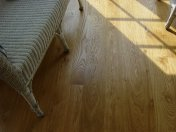 Solid 'selected' English Oak 100mm-200mm wide. Finished with Hardwax Oil - Photo 8 of 10