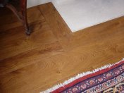 English Character Oak, hand distressed, antique stained. Fitted over underfloor heating. - Photo 7 of 10
