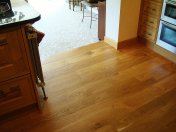 English Character Oak in a kitchen. Pictures taken five years after laying. - Photo 3 of 8