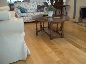Solid Oak 10mm overlay in English Character Oak fixed and finished on site with Hardwax Oil - Photo 9 of 17