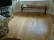 Solid Oak 10mm overlay in English Character Oak fixed and finished on site with Hardwax Oil - Photo 13 of 17