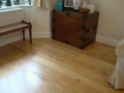 Solid Oak 10mm overlay in English Character Oak fixed and finished on site with Hardwax Oil - Photo 15 of 17