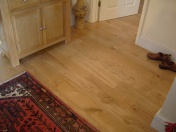 Solid Oak 10mm overlay in English Character Oak fixed and finished on site with Hardwax Oil - Photo 4 of 17