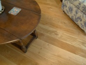 Solid Oak 10mm overlay in English Character Oak fixed and finished on site with Hardwax Oil - Photo 6 of 17