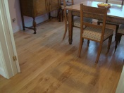 Solid Oak 10mm overlay in English Character Oak fixed and finished on site with Hardwax Oil - Photo 8 of 17