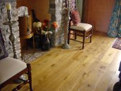 Character Oak floor in a cottage, finished with Hardwax Oil - Photo 2 of 3