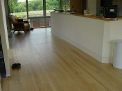 Ash plank finished with Bona Traffic lacquer - Photo 3 of 10