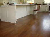 Character Oak engineered board over underfloor heating. Stained and finished with Hardwax Oil on site. - Photo 6 of 19