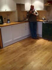 New English Character Oak flooring installed following flood damage. - Photo 9 of 9