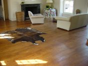 Engineered board with 6mm Character Oak surface, hand distressed and stained. Finished with hardwax Oil - Photo 4 of 7