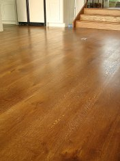 Mixed width engineered board with an antique stain and Hardwax oil - Photo 14 of 16