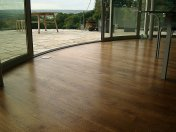 Mixed width engineered board with an antique stain and Hardwax oil - Photo 15 of 16