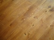 Mixed width engineered board with an antique stain and Hardwax oil - Photo 4 of 16