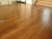 Mixed width engineered board with an antique stain and Hardwax oil - Photo 9 of 16