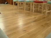 Engineered board laid as a floating floor. Part of an extensive refurbishment of St Andrews church in Devizes. Finished - Photo 8 of 10