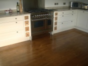 solid English Oak 10mm overlay. Hand distressed edges, Van Dyke stain and Hardwax Oil - Photo 5 of 9