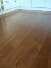 solid English Oak 10mm overlay. Hand distressed edges, Van Dyke stain and Hardwax Oil - Photo 6 of 9