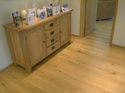 Good quality engineered Oak flooring with staircase clad in Oak to match - Photo 10 of 17
