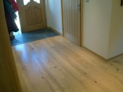 Good quality engineered Oak flooring with staircase clad in Oak to match - Photo 15 of 17