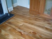 English Elm in a Bristol town house. Pictures taken five years after floor laid. Repair works to joists were made before - Photo 5 of 15