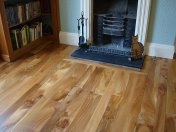 English Elm in a Bristol town house. Pictures taken five years after floor laid. Repair works to joists were made before - Photo 7 of 15