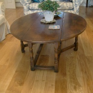 Oak overlay. Character Oak 10mm thick finished with Hardwax Oil
